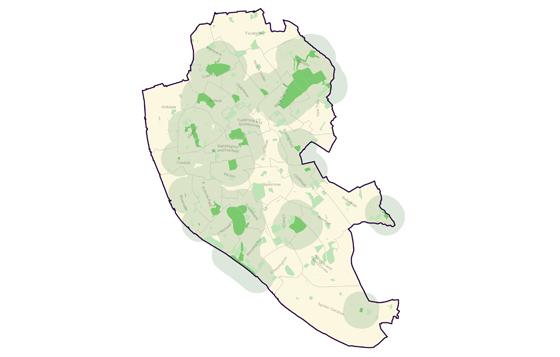 Portfolio impact map