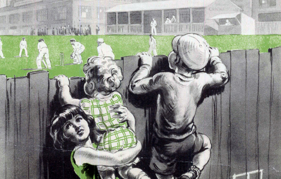 Playing Fields Day poster